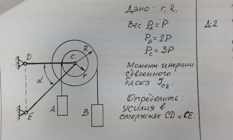 Решение задач но теормеху схемы опоры для решения задач 2 класс