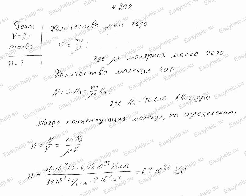 решебник по физике чертов решения