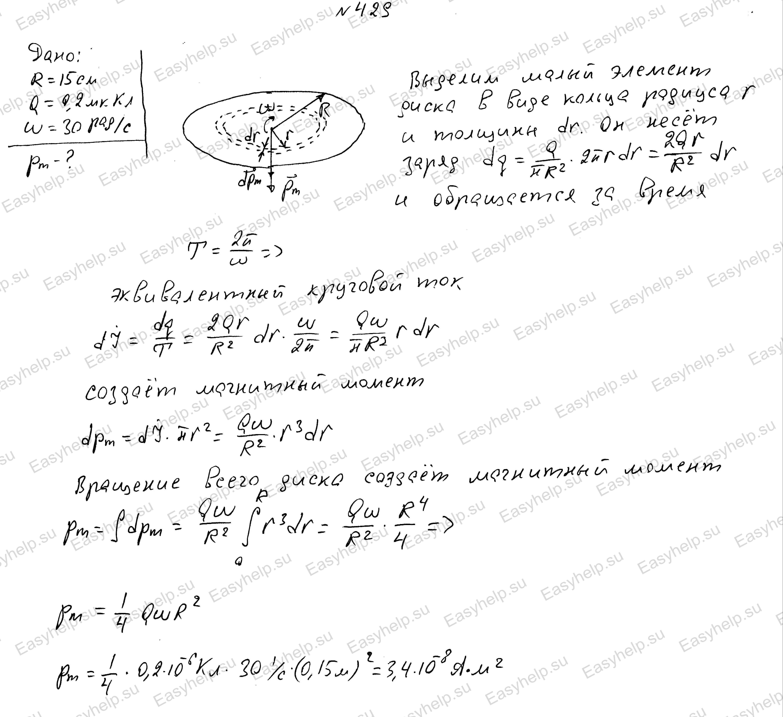 Физика решения решебник чертова